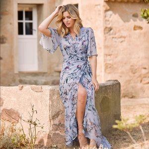 Hope & Ivy BRIDGETTE MAXI DRESS